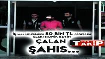 İş Makinelerinden 80 Bin TL Değerinde Elektronik Beyin Çalan Şahıs...