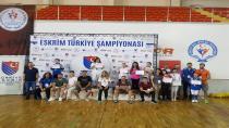 Kağıtsporlu Karadavut, Eskrimde Türkiye 2.'si