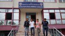 Ev hırsızı Suriyeliler tutuklandı!