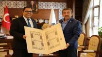 Karabacak'tan Arslan'a hayırlı olsun ziyareti