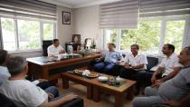 Karabacak'tan stk'lara teeşkkür ziyareti