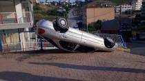 Aşırı hız kazaya sebep oldu!