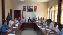 Dilovası belediyesi ağustos ayı meclisi gerçekleşti