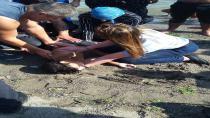Boğulma tehlikesi geçiren çocuğu zabıta kurtardı