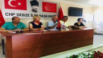 Gebze'de Genişletilmiş Danışma Kurulu toplandı.