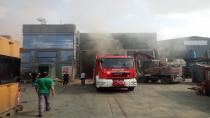 Kocaeli'de atık yağ fabrikasında yangın