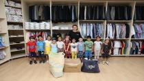 Anne-Çocuk Kulübü Öğrencilerinden Anlamlı Proje