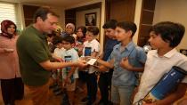 Satrançin şampiyonlari başkan demirci'yi ziyaret etti