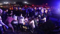 Kontrolden çıkan otomobil 4 aracı biçti: 1'i çocuk 7 yaralı