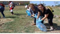 CHP, dünya çöp toplama günü'nde darıca'yı temizledi