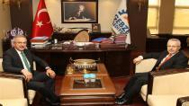 Başkan Köşker Başsavcı Kuruçay'ı Ağırladı