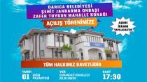 Darıca'da mahalle konaklarının üçüncüsü açılıyor