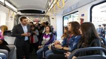 Akçaray'da rekor ''Günde 41 Bin 625 yolcu''