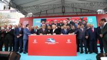 Gebze-Darıca metro hattının temeli muhteşem törenle atıldı