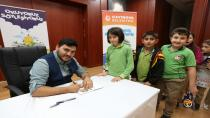 Okuyoruz Söyleşiyoruz Projesi Yaşar Bayraktar'ı Konuk Etti