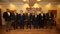 Başkan karabacak Mardin'den  misafir ağırladı