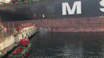 Dilovası'nda gemi kazası