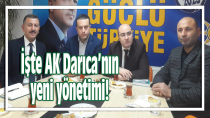 İşte AK Darıca'nın yeni yönetimi!