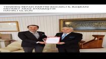 Kocaeli'de yeniden refah partisi il başkanı Mehmet Aras oldu