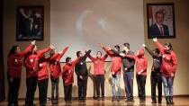Özel öğrencilerden Çanakkale kahramanlarına özel gösteri