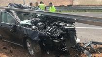 Feci kaza : 1 ölü,2 yaralı
