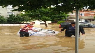 Bölgemizdeki sel baskını hayatı olumsuz etkiledi