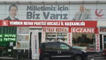 Yeniden refah partisi Kocaeli il teşkilatı yeni binasında..