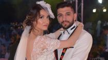Dillere destan düğünle evlendiler