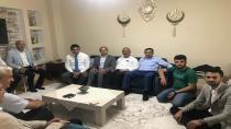Şair ve Akbulut Karakaya'yı ziyaret ettiler