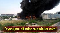 Çayırova'daki yangının altından skandal çıktı..
