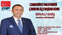 ENİŞ BENDE VARIM DEDİ