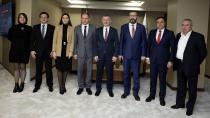 Başkan Büyükakın, Kişinev Belediye Başkanını ağırladı