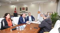 Katırcıoğlu başkanlarla birlikte Çayırova'lıları dinledi