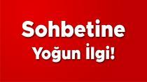 Ahmet Doğan'ın sohbetine yoğun ilgi