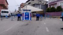 Dilovası'nda pazar giriş ve çıkışları kontrol altına alındı