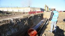 Gebze 1300 mm çelik boru hattı tamamlandı