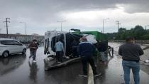 Çöp kamyonu devrildi: 1 ölü,1 yaralı