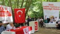 Erbakan Kocaeli teşkilatının misafiri oldu.