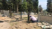Dilovası'nda mezarlıklar bayrama hazırlanıyor