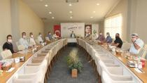 Başkan Çiftçi kulüp başkanlarıyla bir araya geldi