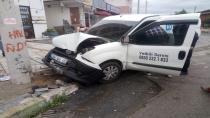 Çayırova'da kaza ucuz atlatıldı