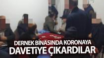 Darıca'da dernek binasında oyun oynayan 10 kişi yakalandı