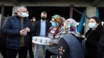 """Başkan Büyükakın,""""Çiftçimiz rahat olsun,Büyükşehir Belediyesi yanlarında"""""""