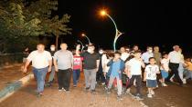 Başkan Şayir'den Diliskelesi'ne yürüyüş yolu